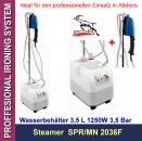 PROFFESIONAL IRONING SYSTEM Steamer orig. Silter MN3036F 2,5 bar, 3,5 Liter