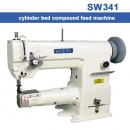 Cowboy Duty 341 Cylinder Bed Leather Sewing Machine mit 750W Motor und Nadelpositionierung