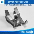 Zipper Foot Kederfuss 601-3/U193 - 3 mm für Brother B797, Zoje 0303, Mitsubishi DY LY Serien , 0302, 0303, 0303L