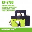 Portable ultraleichte Sacknähmaschine Keestar KP-2700 Bag closing machine new Model 2019