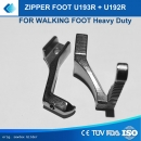 Zipper Foot Kederfuss U193R + U192R  für Brother B797, Zoje 0303, Mitsubishi DY LY Serien , 0302, 0303, 0303L