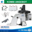 Combi Deals - High Speed Sacknähmaschine Nexxi LX5-11D mit 5000 m Garn, Nadel of 40 Stück + Keilriemen