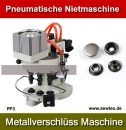 3 Head Pneumatische Ösenmaschine Einsetzmaschine für Nieten Snap Button Riveting Machine Model PP3