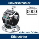 UNIVERSALZÄHLER ADDIERT BEIM DRÜCKEN - UNIVERSAL COUNTER, ADDS BY PUSHING