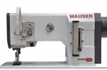 MAUSER SPEZIAL 1246 MA1246-6/01- 2 Nadel LEDER leather lockstitch machine - Montirert